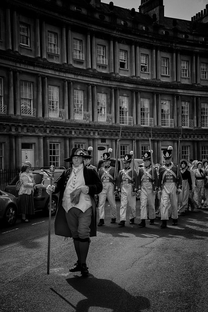 Bath - Jane Austen festival walk