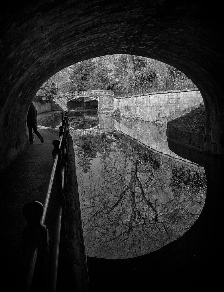 Under the bridge, Bath street photography