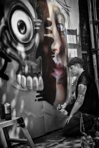 Bristol upfest 2015 graffiti and street art festival