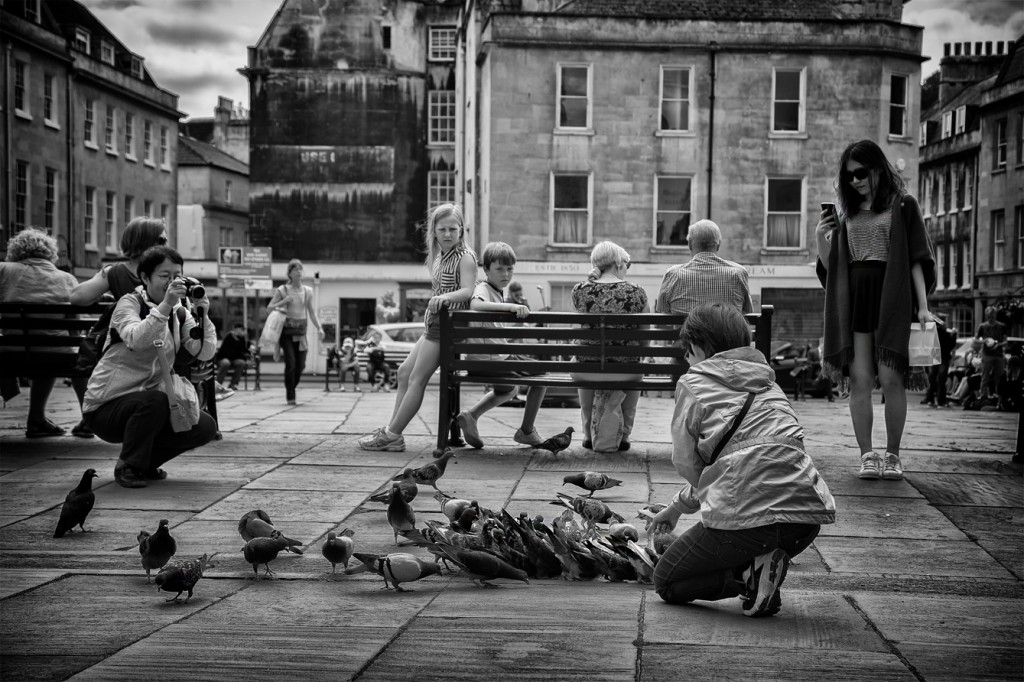pigeon fanciers - UK street Photography