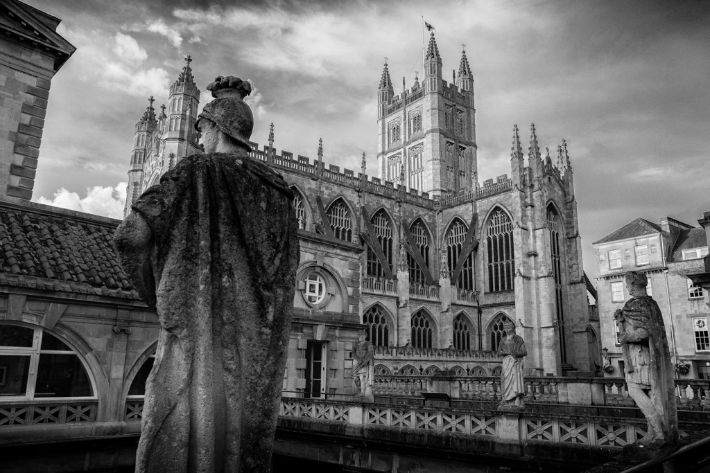 The Roman Baths - UK/Bath street photography