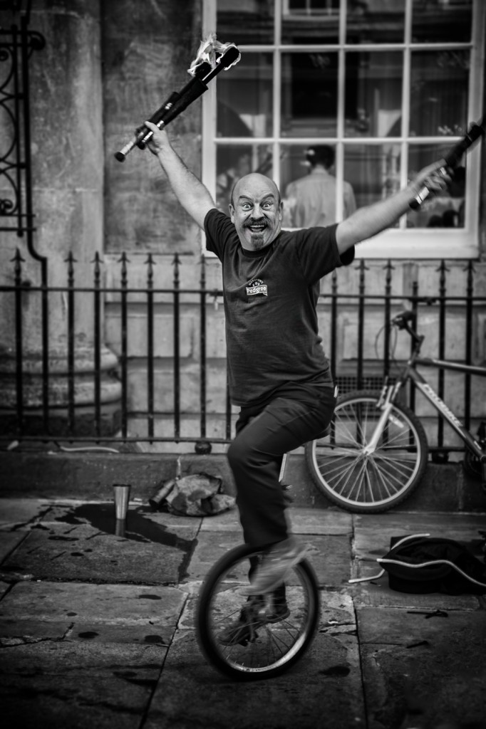 fire eater - UK street Photography