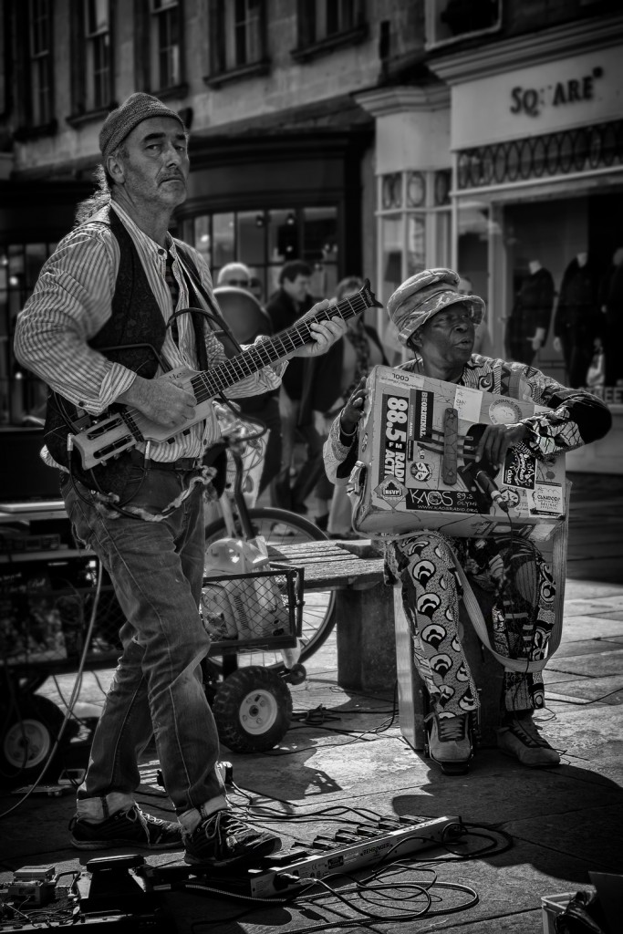 street musicians - UK street Photography