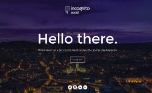 ingognito social website
