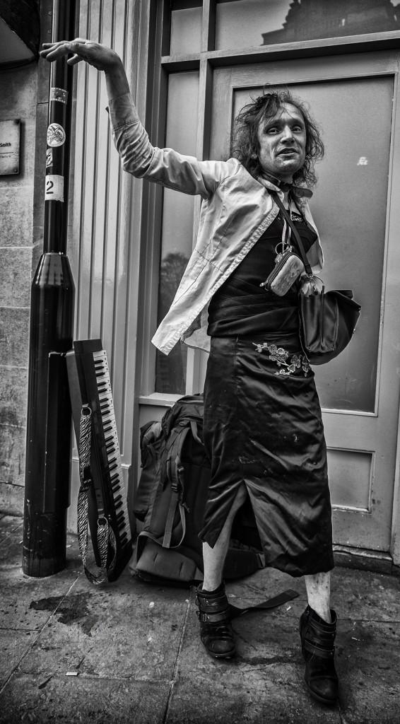 street portrait of deborah - UK street Photography