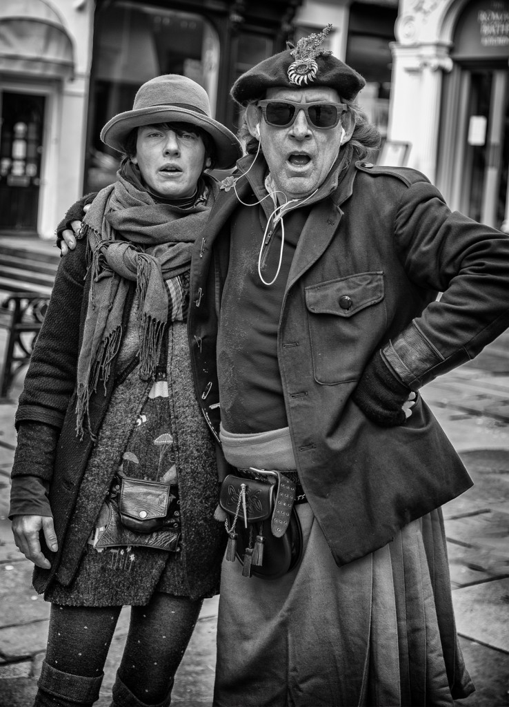 portrait of Bath Buskers