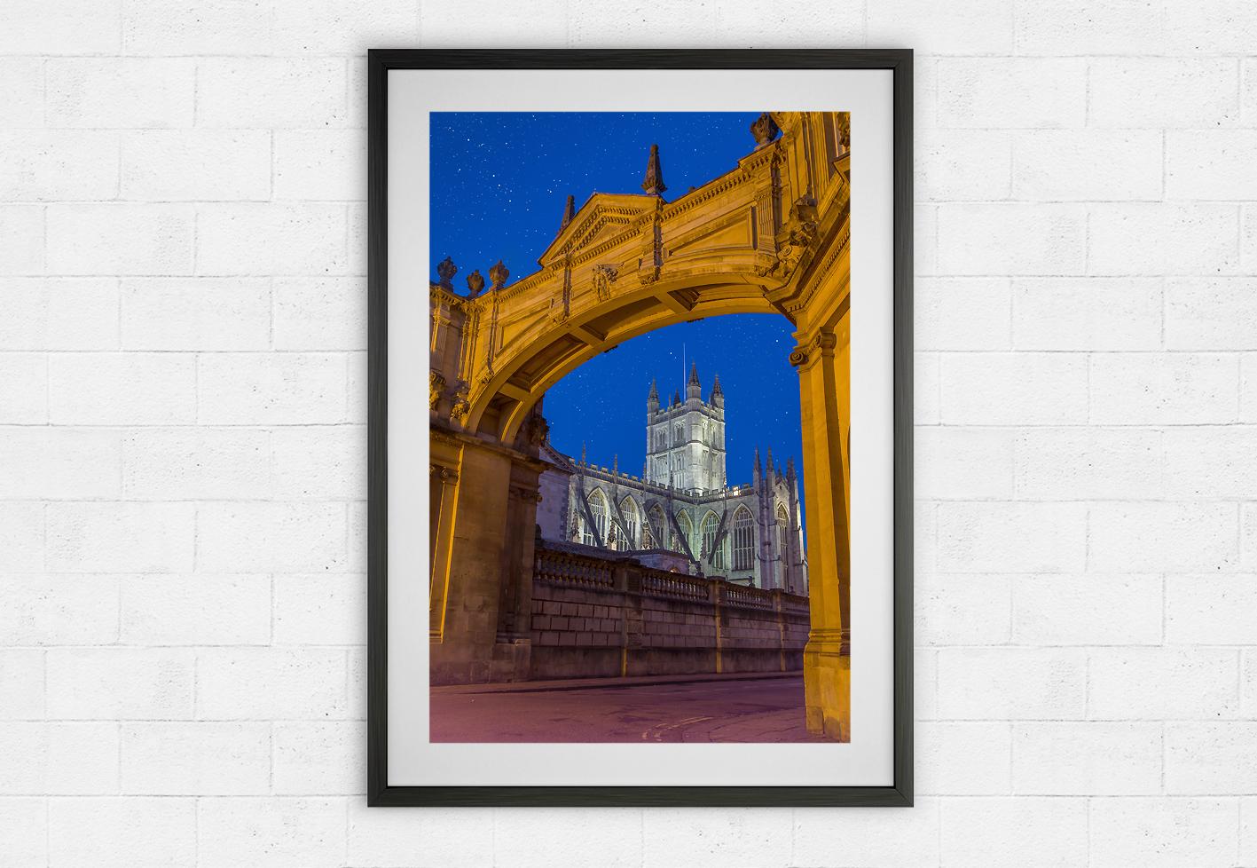 arch framed bath abbey
