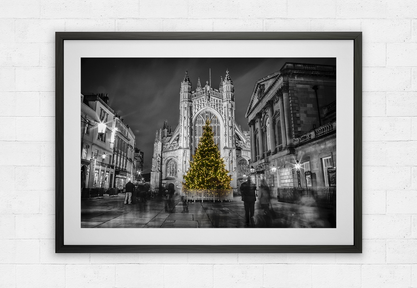 Bath Abbey christmas tree
