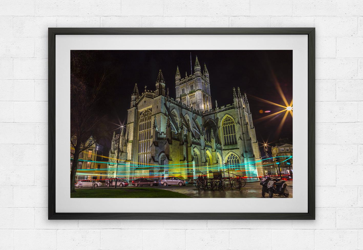 Bath Abbey traffic