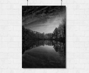 Misty Tucking mill Viaduct-print