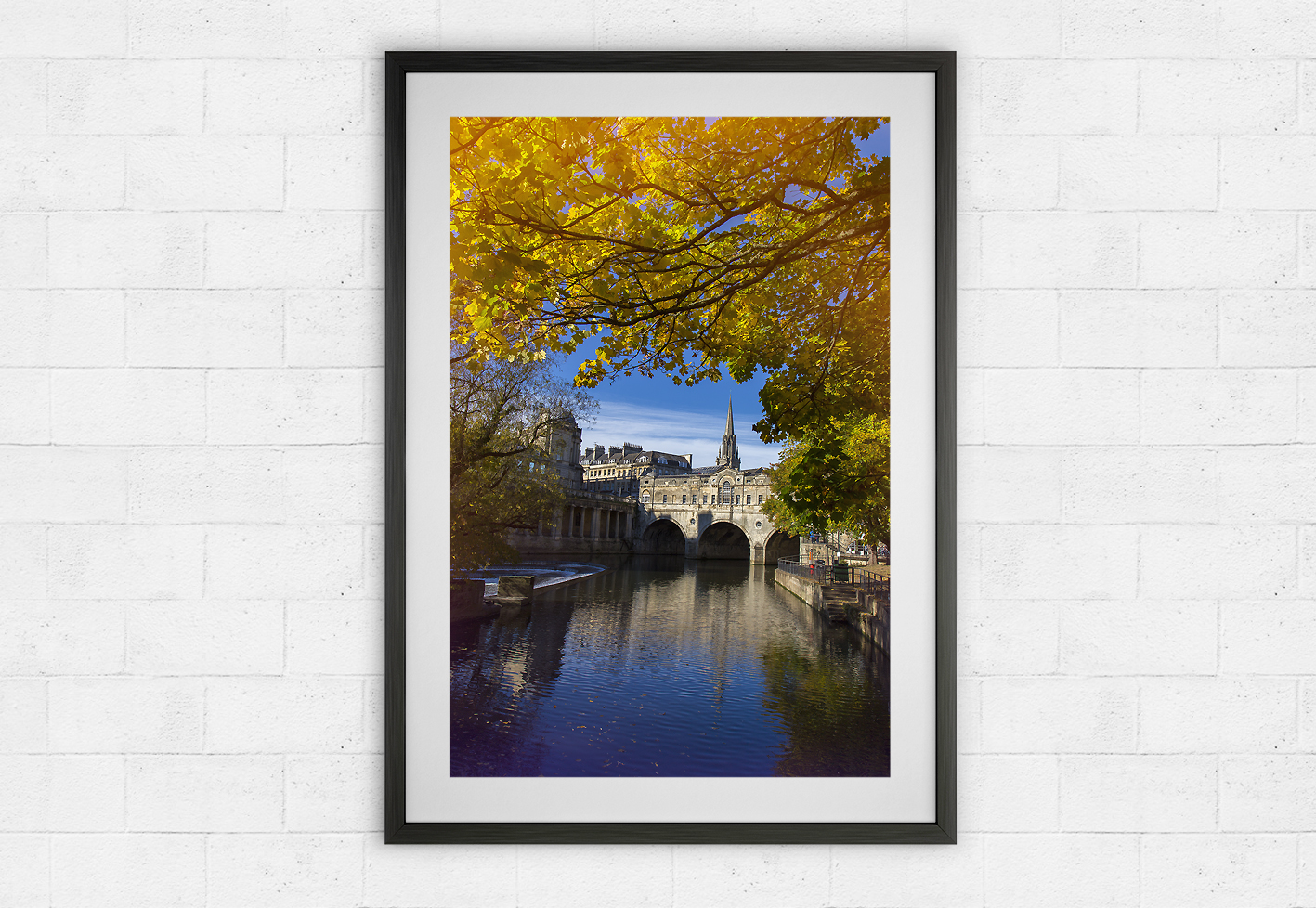 Pulteney Bridge in Autumn