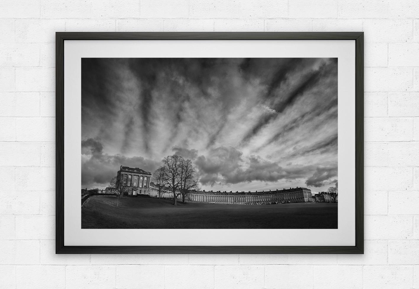 Royal Crescent and moody skies