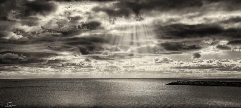 Cloud Dancing - Exmouth beach
