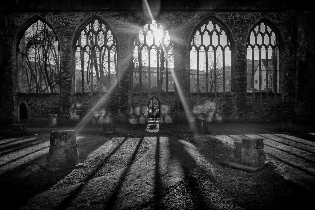 Templar church, temple meads-bristol street photography