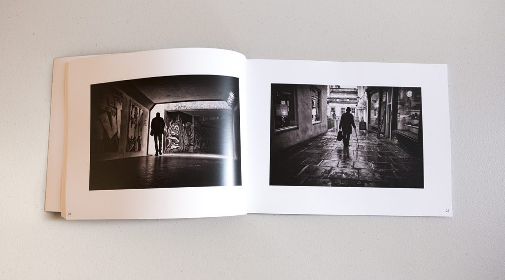 Sample pages from Dreaming of Black & White Book