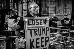 London million mask march 2017