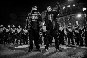 London million mask march 2017