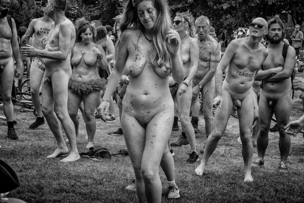 BWNBR - Bristol world naked bike ride - 2018