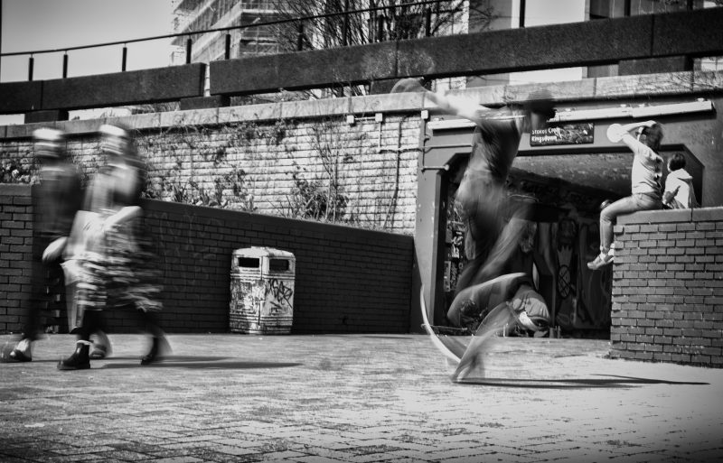 life is a blur - uk street photography