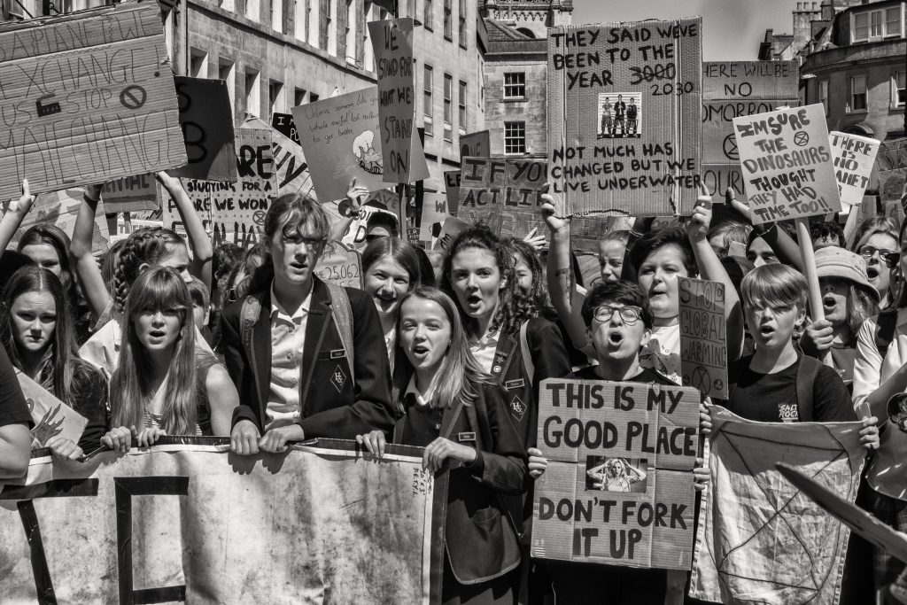 Bath youth climate change demo 24 may 2019