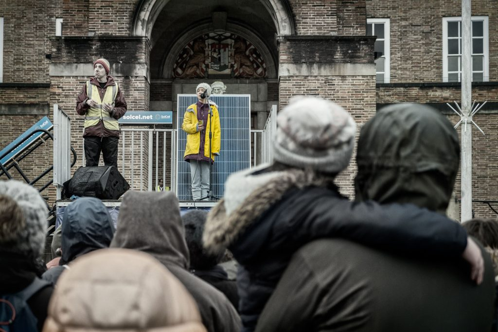 Greta thunberg, Bristol 2020
